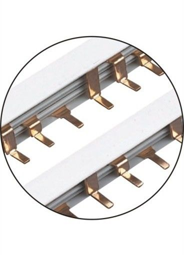 Copper Insulated Busbar Electrical Bus Connectors Low Power Consumption