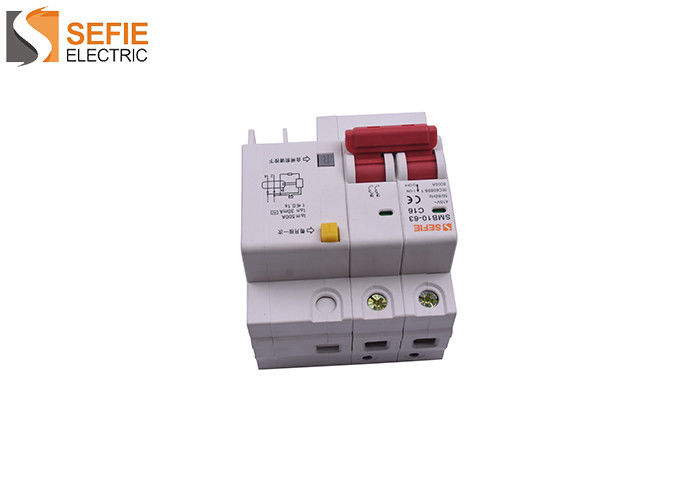 Three Pole RCBO Circuit Breaker 63A Overload Circuit Breaker  IEC61009 Standard
